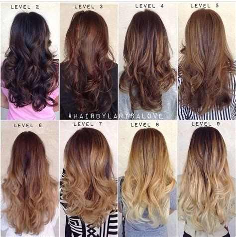 level 4 hair color hair color levels hair makeup clothes pretty things