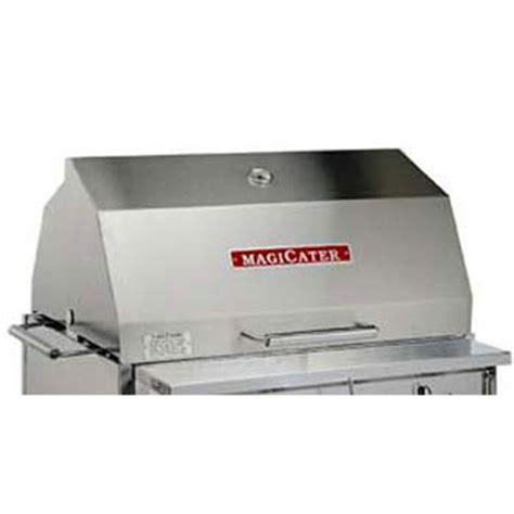 commercial pits outdoor magikitchn 5225 1514702 30 quot w commercial outdoor grill