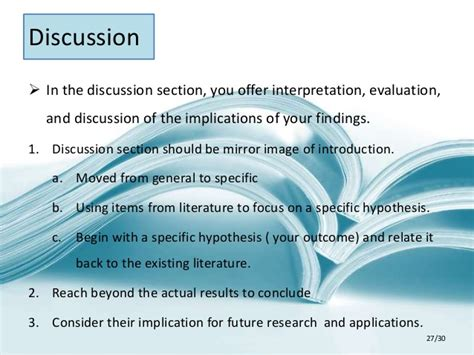 how to write a discussion section apa apa style research paper