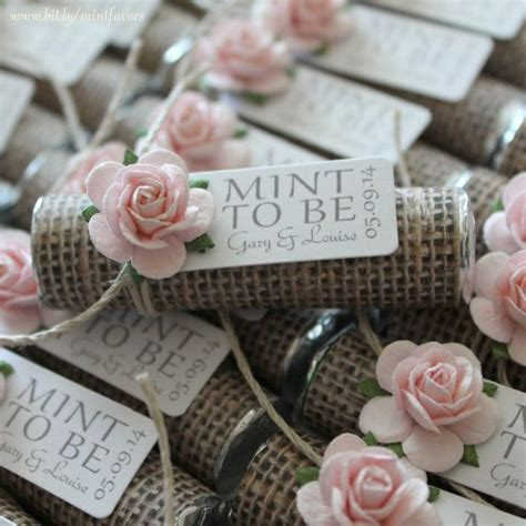 16 unique wedding favor ideas wedding mint to be and rustic