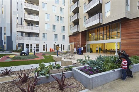 Garden Center Apartments by Gallery Of Station Center Family Housing David Baker