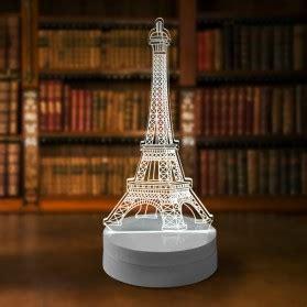 Lu 3d Led Transparan Desain Eiffel Tower White 6r61r8 lu meja belajar portable hemat energi reachargeable usb