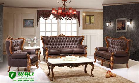 Kursi Ruang Tamu Mewah kursi tamu jati jepara terbaru ukiran model mewah elegan