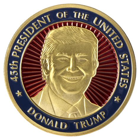donald trump gold coin president donald trump 45th president coin in small coin