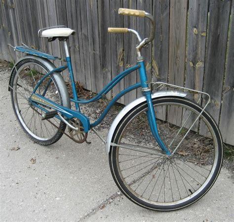 vintage huffy bicycle original1960 s front rear rack