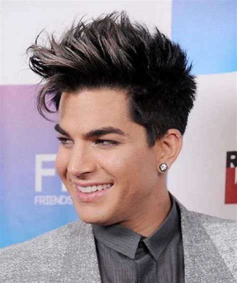 Adam Lambert Hairstyle by Hairstyles Mens Hairstyles 2018