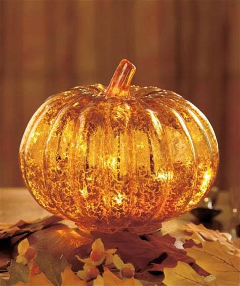antiqued glass led lighted harvest thanksgiving fall