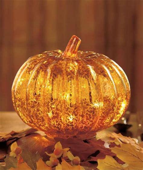antiqued glass led lighted harvest thanksgiving fall