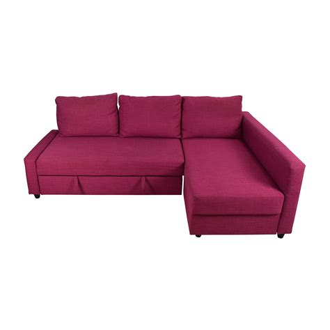 Pink Sectional by 66 Friheten Pink Sleeper Sofa Sofas