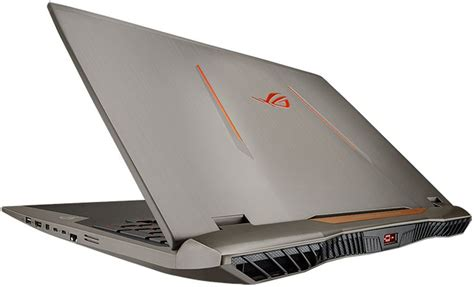 Asus High Performance Gaming Laptop the asus rog g701vi gaming laptop offers high vr performance