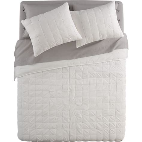 bed linens and more mahalo white bed linens in all new cb2 bedroom bliss