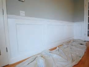 wainscoting install bathroom installing wainscoting after installing