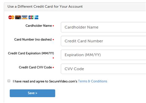 Credit Card Date Format Securevideo Billing How We Bill And How To Change The Credit Card On Your Account