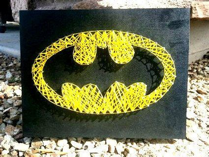 batman string room decoration by