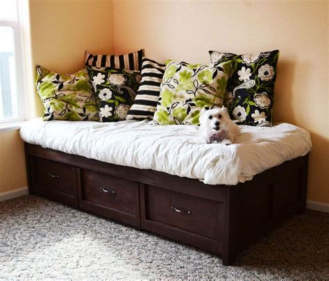 make your own daybed best 20 daybed with storage ideas on pinterest
