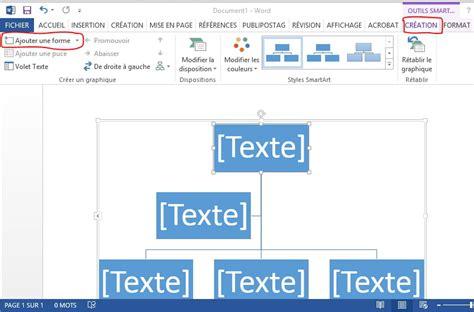 Modèle Organigramme Word