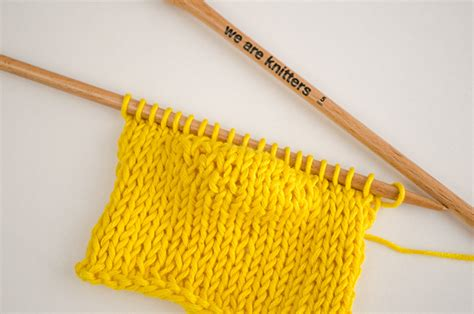 we are knit how to knit rows the us uk