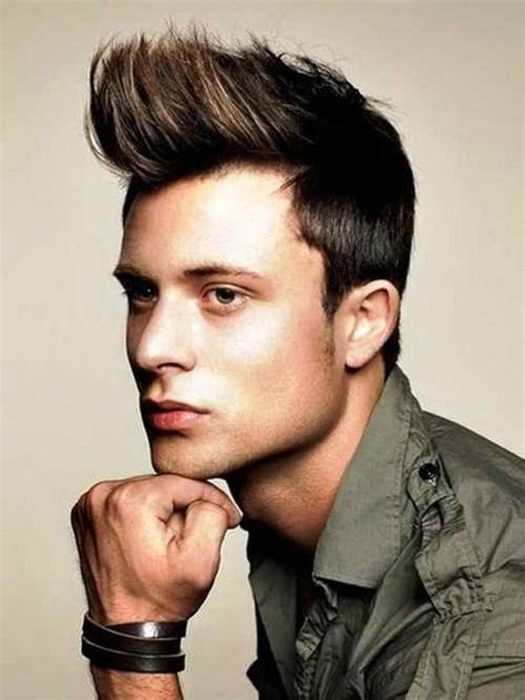 hairstyles guys think are hot 10 hot spiky hairstyles for guys to get more fashionable