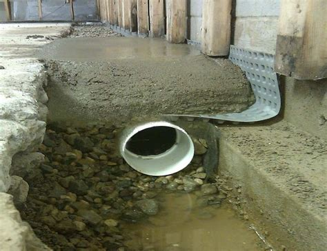 basement waterproofing basement waterproofing methods drain system for