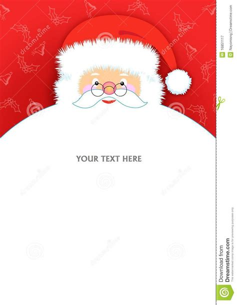 santa claus letter pad royalty  stock photography image