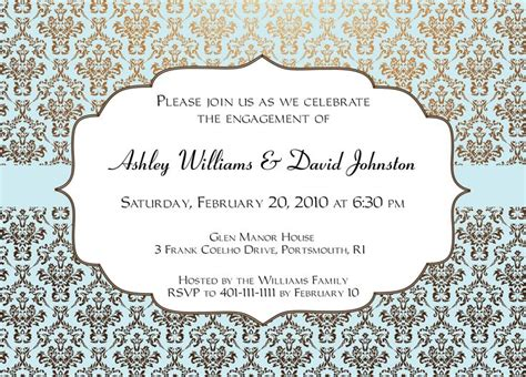 invitation templates 17 best ideas about engagement invitation template on