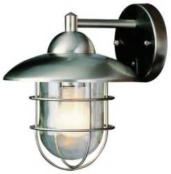 stainless steel outdoor wall lights bel air lighting stainless steel outdoor wall light lowes