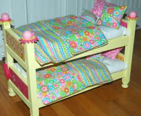 american doll beds american doll bed yellow doll bunk bed fits