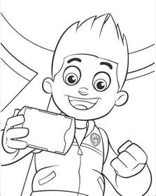 coloring paw patrol free coloring pages of paw patrol