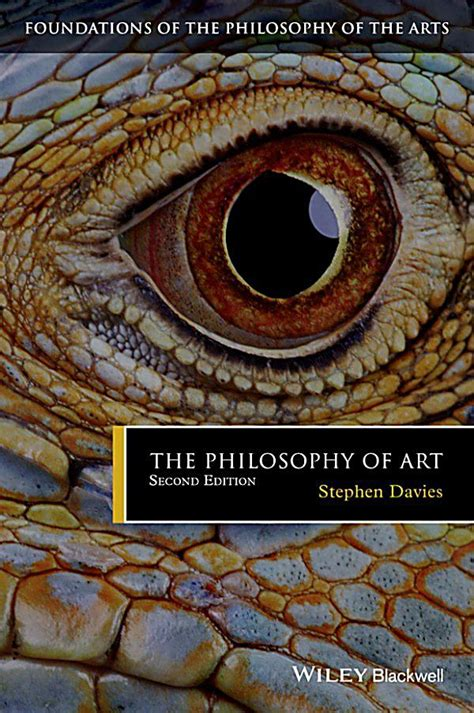 Philosophy And The Arts foundations of the philosophy of the arts the philosophy