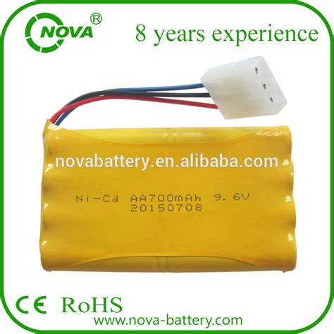 Battery Ni Cd Aa 700mah 3 6v 9 6v 700mah ni cd aa battery pack rechargeable for