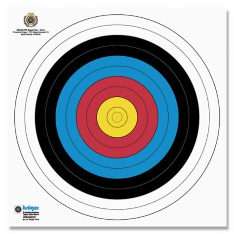 Target Arc L cibles tir 224 l arc blason 40cm wa starget shooting