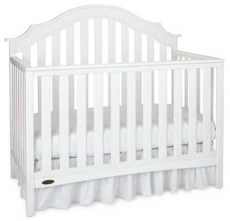 Graco Convertible Crib Replacement Parts Graco Graco Convertible Crib White Baby Baby Furniture Cribs