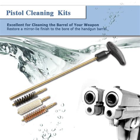 pistol cleaning kit pistol cleaning kits 38 40 45 cal cytac
