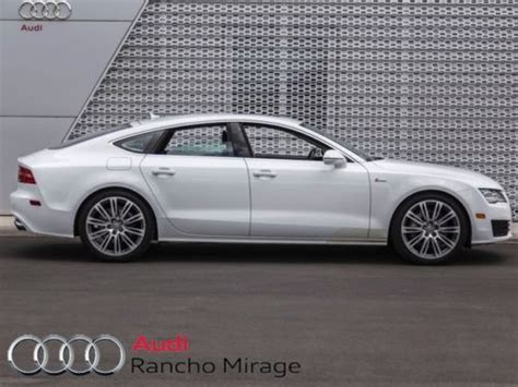 Certified Pre Owned Audi A7 by Sell Used Cpo 2012 Audi A7 3 0 Quattro White Premium Plus