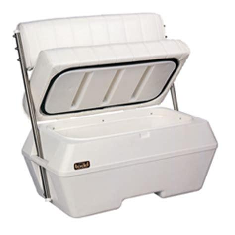 boat cooler seat backrest leaning posts west marine