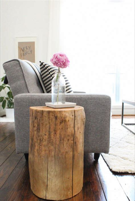 upcycled tree stumps hgtv design blog design happens