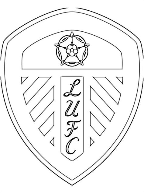 Coloring Page Leeds United A F C Coloring Pages Utd Colouring Pages