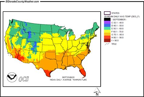 america map temperature united states yearly monthly daily average temperatures