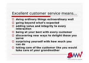 how to provide excellent customer service in your leisure