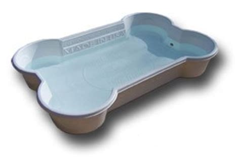 bone shaped pool wading pools for dogs large and small my ate my money