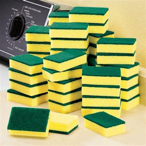 Set Of 2 Cleaning Sponge scrub sponge set cleaning sponges kimball