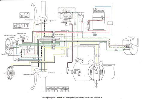 honda hobbit moped cdi wiring diagram honda get free