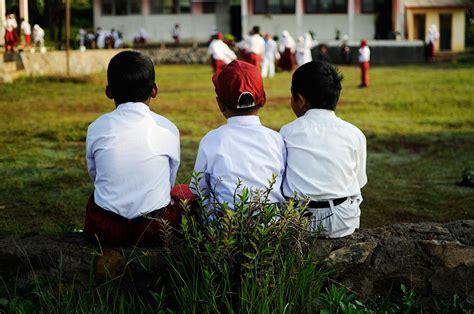 Seragam Sekolah Dasar kelas inspirasi desa cikidang 1 aribowo juliarso