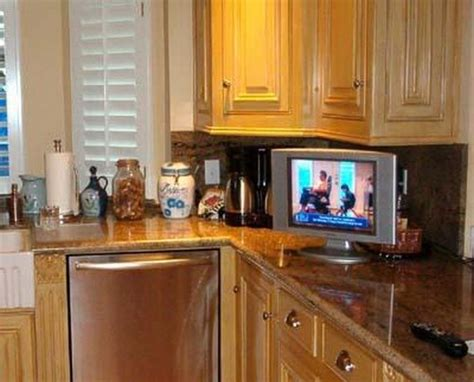 Small Tvs For Kitchen by