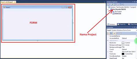 cara membuat koneksi database mysql menggunakan odbc 3 kemudian silahkan anda desain form anda kurang lebih