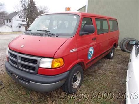 how does a cars engine work 2001 dodge ram van 3500 electronic valve timing purchase used 2001 dodge ram 1500 utility work van 83 830 miles 3 9l v6 needs some work in