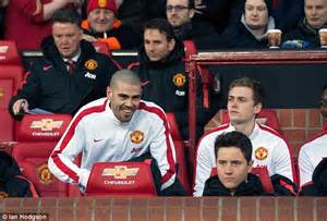 man utd bench victor valdes working hard for this season at manchester