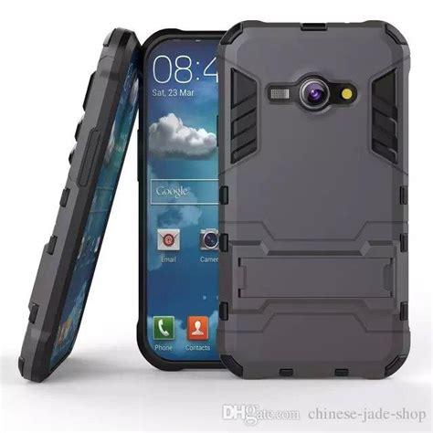 Anti Anticrack Anti Shock Samsung J1 2016 J3 hybrid kickstand anti shock defender armor tpu pc cover for samsung galaxy j1 ace j110 j2