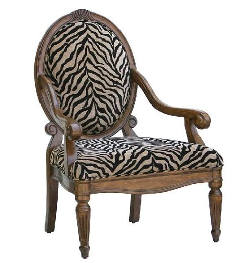 Zebra Accent Chair Zebra Print Accent Chair Places Spaces Things Pinterest