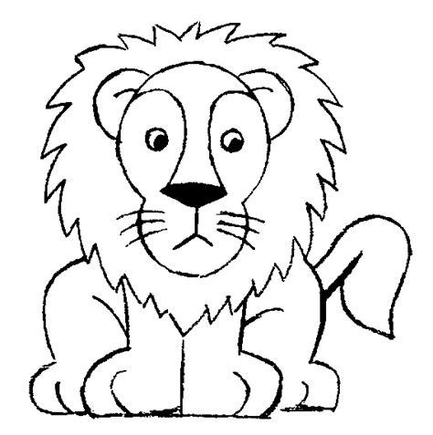 imagenes de leones para colorear image gallery leon para colorear